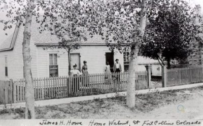 Eva and James Howe… and their house.
