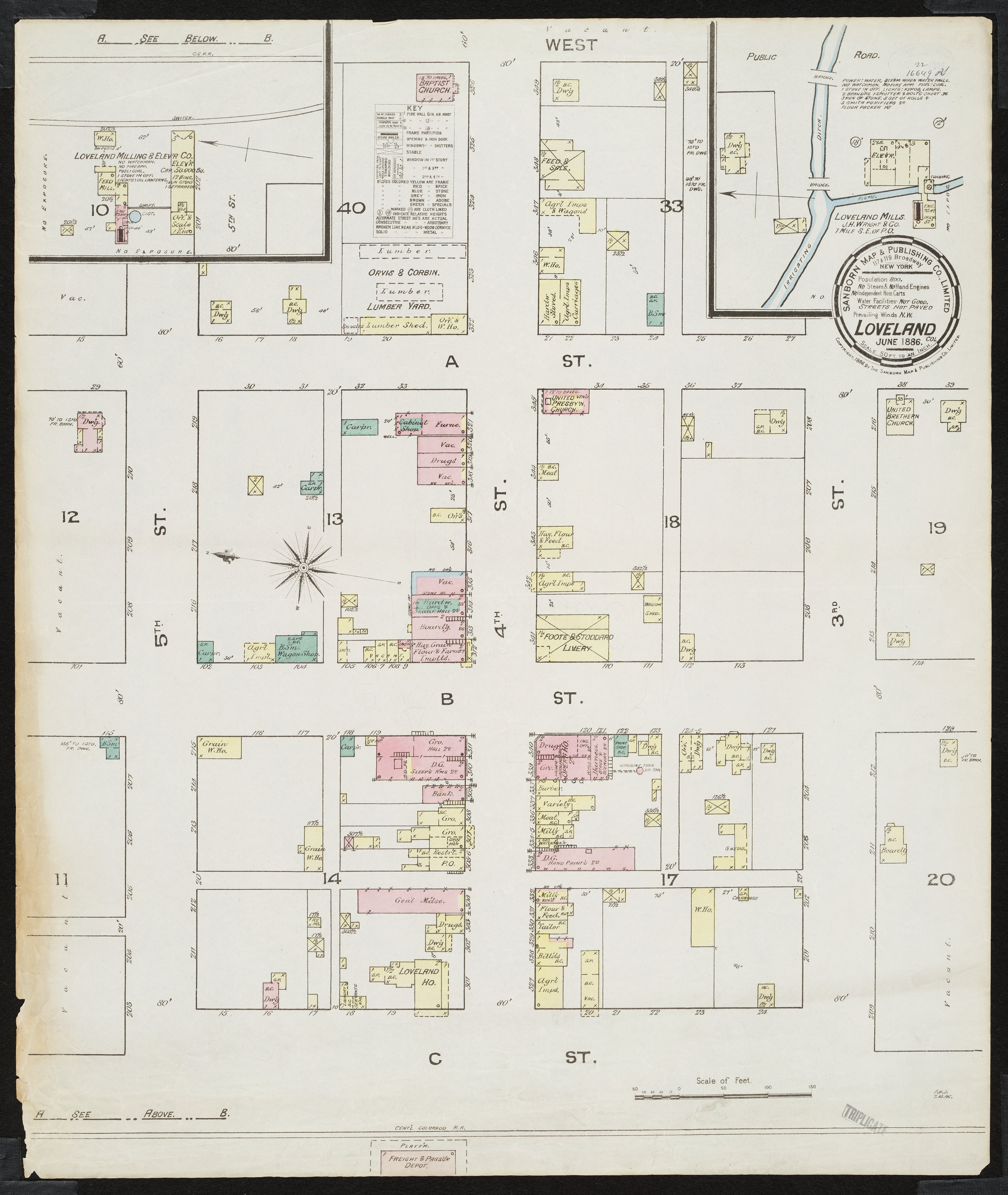 Loveland as seen from the 1886 Sanborn Map - Northern ...