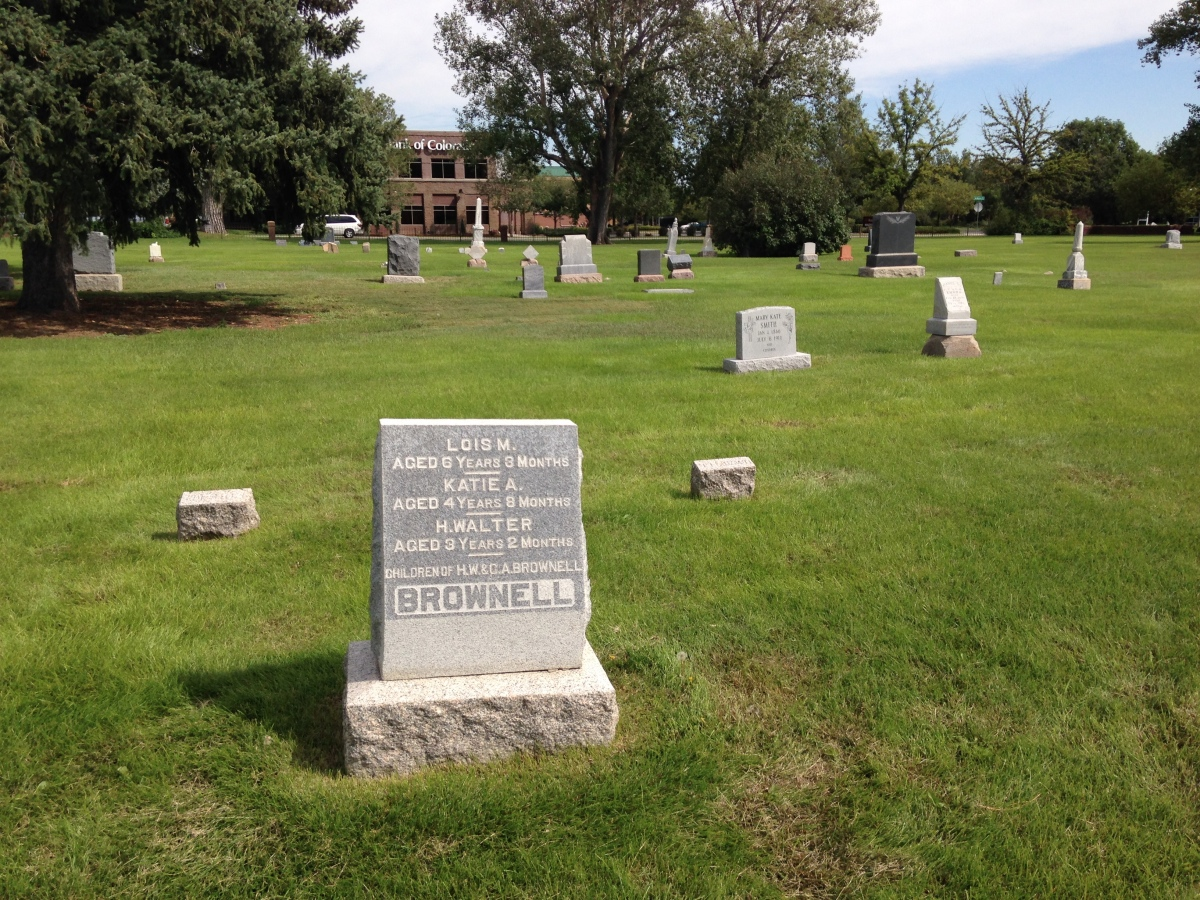 2014 Cemetery Stroll / Forgotten Fort Collins Style – The Harmony Cemetery, Fort Collins