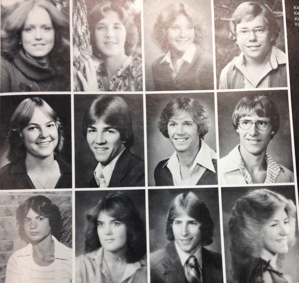 Yearbook photos from FCHS in 1980
