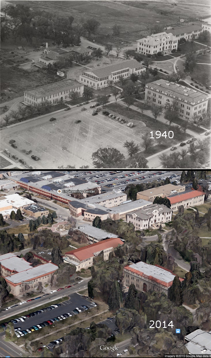 Then & Now: CSU in 1940 and Today