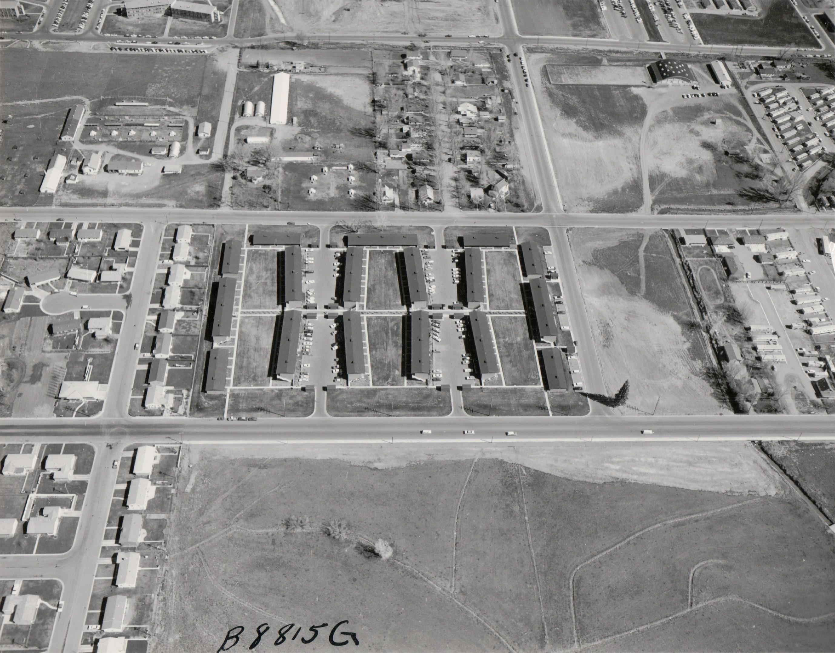 Then & Now: Aggie Village at CSU
