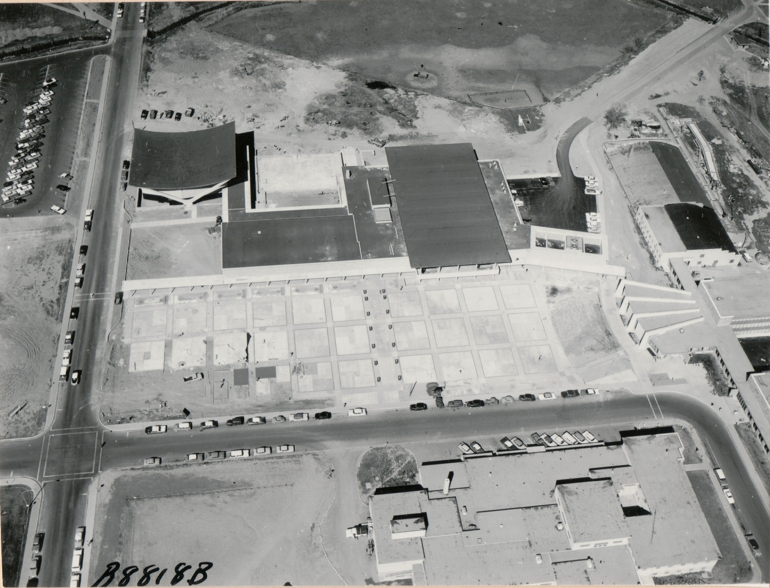 Then & Now: the Plaza at Colorado State University in 1962