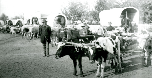 Crossing the Plains in 1862