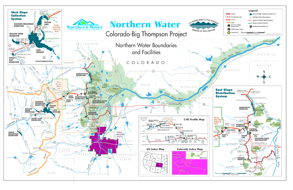 The  Colorado – Big Thompson (C-BT) Water Project